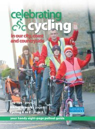 Top tips - page 2 Biking to work - page 6 Cycling A to Z - page 8