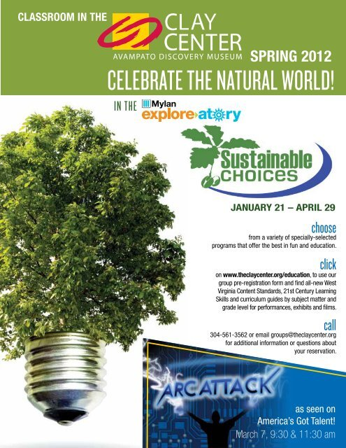 CELEBRATE THE NATURAL WORLD!