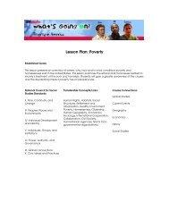 lesson plan for this program - Social Studies School Service