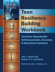 Workbook Teen Resiliency- Building