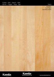 Kartano Full Plank Landhausdiele Pyökki • Bok • Beech ... - Sonerg
