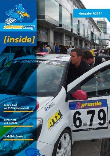 Zum 5. Lauf zur VLN Meisterschaft - Roadrunner Racing