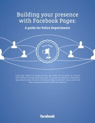 Building your presence with Facebook Pages: - IACP Center for ...