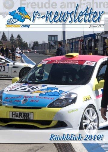 Januar 2011 - Roadrunner Racing