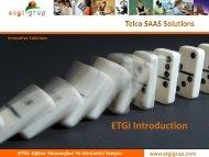 ETGi Introduction