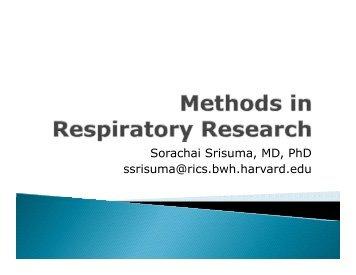 Sorachai Srisuma MD PhD Sorachai Srisuma MD PhD ssrisuma@rics.bwh.harvard.edu