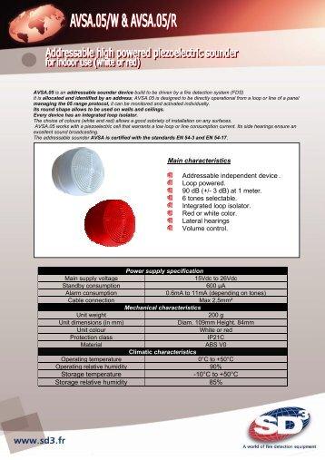 Storage temperature - Almaks Security Systems