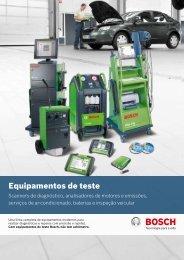 Equipamentos de teste - Bosch