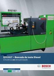 EPS 617 – Bancada de teste Diesel Eficiência e versatilidade