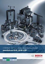 CAM 847 - kit para teste de sistemas Diesel eletrônicos UI-P UI-N e UP