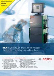 BEA – Sistema de análise de emissões de acordo com a legislação brasileira