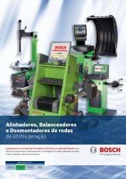 Alinhadores, Balanceadores e Desmontadores de rodas de ... - Bosch