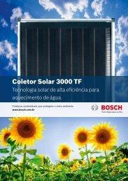Coletor Solar 3000 TF