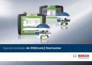 Guia de instalação do ESI[tronic] Startcenter - Bosch