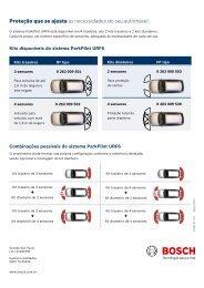 Sensor de Estacionamento - Bosch