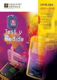 Test y medida