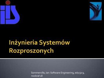 Sommerville Ian Software Engineering edycja 9 rozdział 18