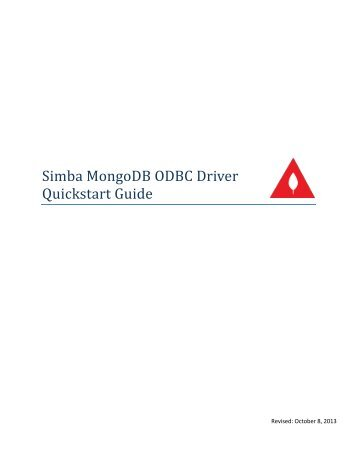 Simba Client Odbc Driver