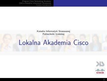 Lokalna Akademia Cisco