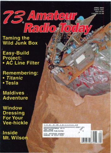 Amateur Radio Today - Free and Open Source Software