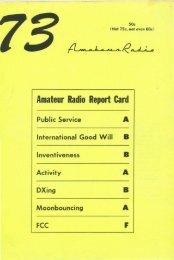 Amateur Radio Report Card