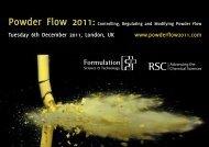 Powder Flow 2011