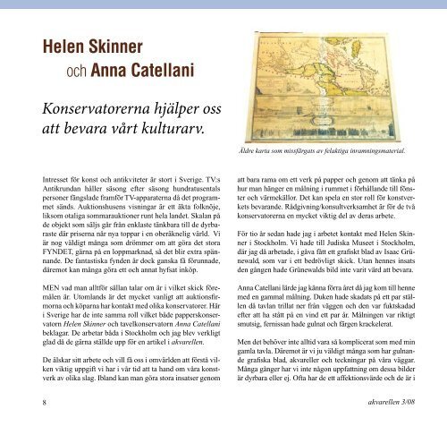 Helen Skinner och Anna Catellani - Ateljé Catellani