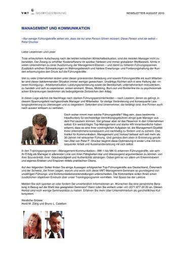 Download Newsletter PDF - Heidi M. Zöllig, Bruno L. Catellani