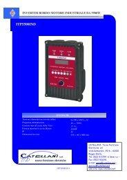 ITP5500IND - Catellani Tecno Forniture Elettriche srl