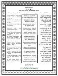 Texto en PDF - Kol Tuv Sefarad