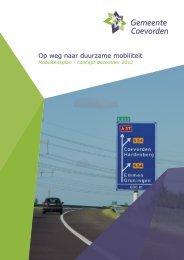 Op weg naar duurzame mobiliteit