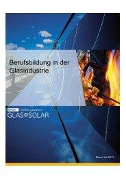 Berufsbildung in der Glasindustrie