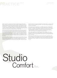 Studio - Robert Mills Architects