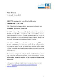 DG HYP finances retail and office - Deutsche Genossenschafts ...