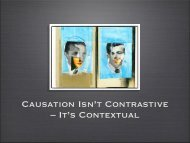 Causation Isn't Contrastive – It's Contextual