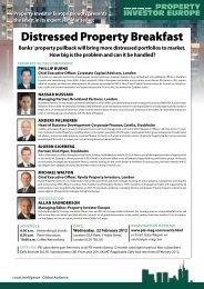 Distressed Property Breakfast - PIE Mag