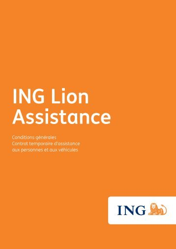 conditions générales contrat temporaire - ING Belgium