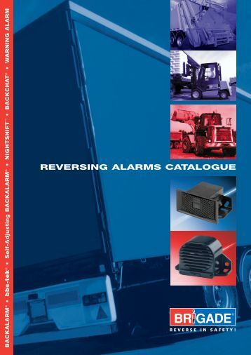 Reversing alarms catalogue - the Derwent Group
