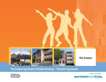 The Estates Apartments Printable Brochure - Apartments For Rent