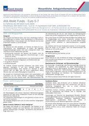 AXA World Funds - Euro 5-7 Unternehmensund