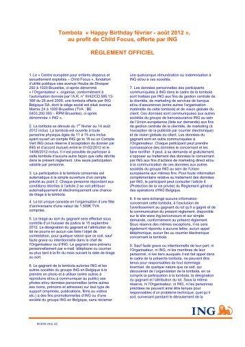 Règlement PDF