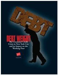Debt Weight - Urban Justice Center