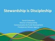 Stewardship is Discipleship