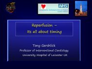 Reperfusion – Its all about timing