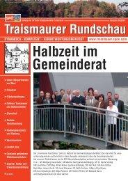 Halbzeit im Gemeinderat - SPÖ Traismauer