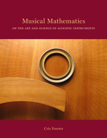 Musical Mathematics - The Chrysalis Foundation