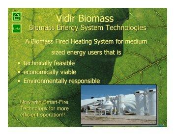 Vidir Biomass