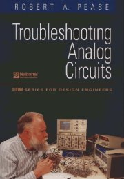 Troubleshooting Analog Circuits With Electronics Workbench ...
