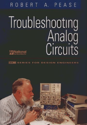 Troubleshooting Analog Circuits With Electronics Workbench ...