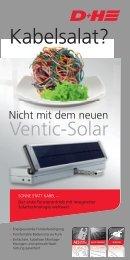 Ventic-Solar - D+H Mechatronic